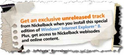ie8 nickelback