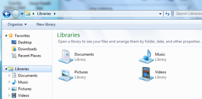What are Libraries in Windows 7