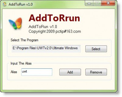 Create your RUN commands