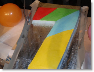 windows 7 cake
