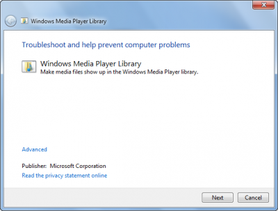 Troubleshoot Windows Media Player
