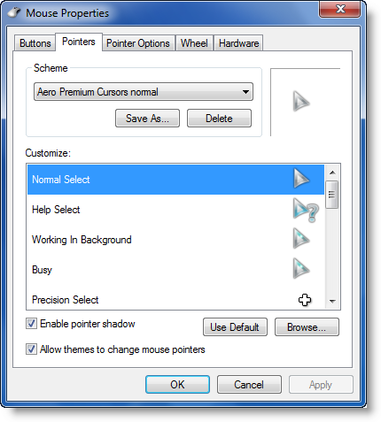 Install, change & customize Cursors
