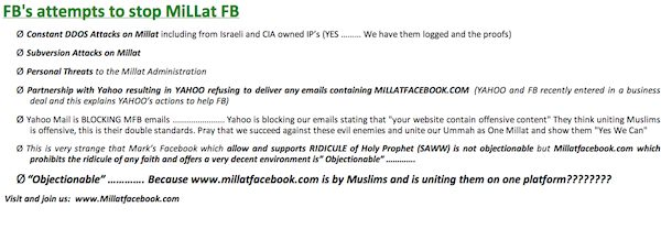 Pakistan gets its own Facebook - The MILLAT Facebook!