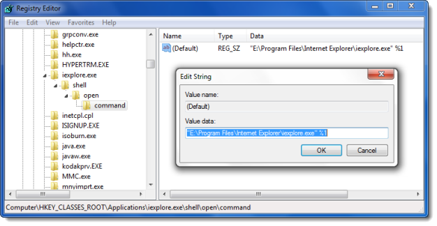 Cannot associate File Type with a Program in Windows 10