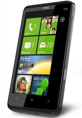 HTC launches HTC HD7, the first Windows Phone 7 in India, at