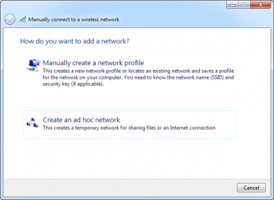 12 Feb 11 4 17 39 AM 400x292 How to set up an ad hoc computer to computer network in Windows 7