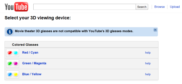 YouTube - Now in 3D Vision