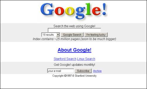 Google Search home page gets a new design