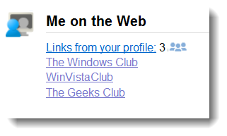 Google Me On The Web tool