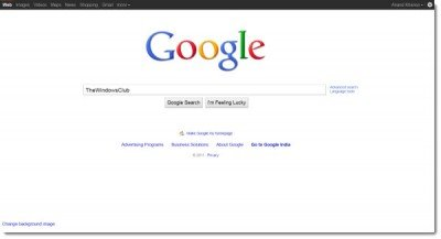 Google search home page gets a new design - Google home page design ...