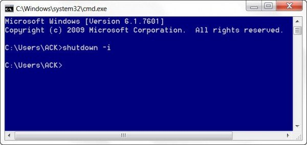 How to Remotely Shutdown a Windows 10 computer
