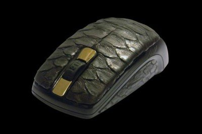 Python Leather Mouse by MJ