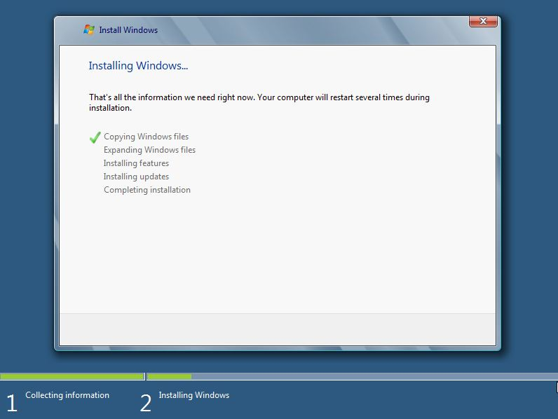 61 Install Windows 8 Developer Preview