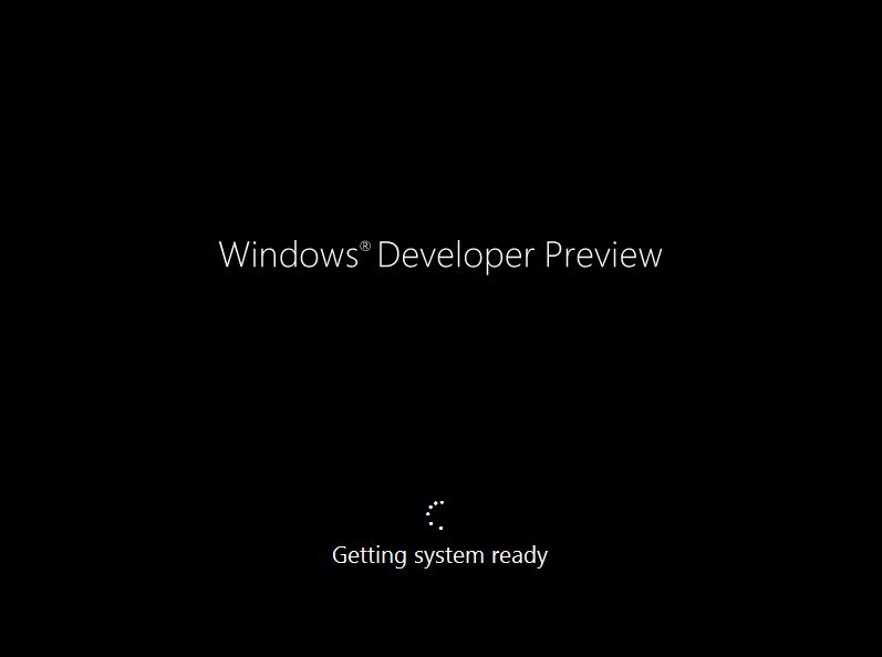 71 Install Windows 8 Developer Preview