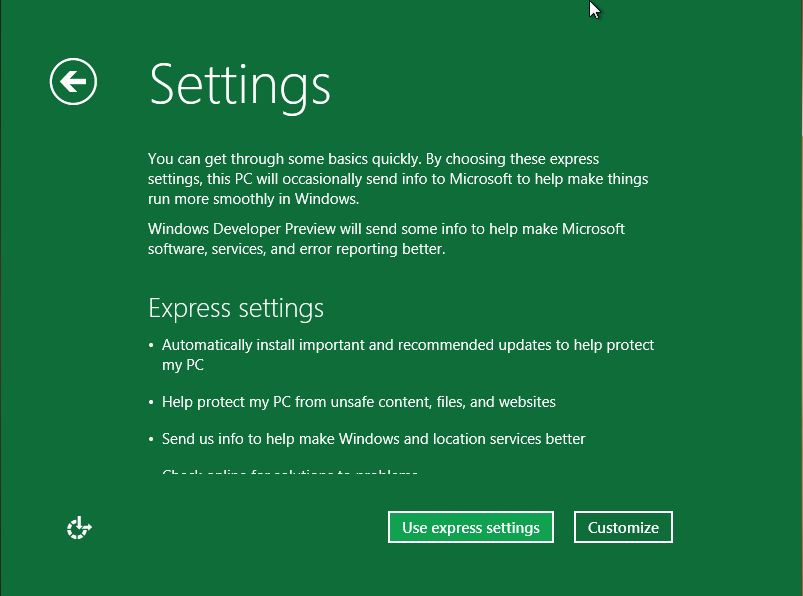 91 Install Windows 8 Developer Preview