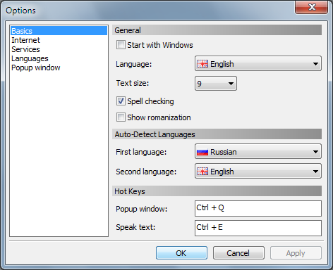QTranslate 5 QTranslate: A free Translator Utility for Windows 7