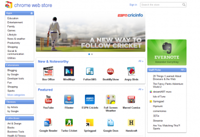 Google Chrome Web Store now available in 24 other countries