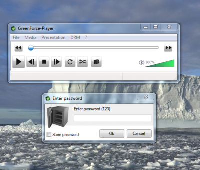 GreenForce file 400x340 GreenForce Player: Encrypt your media with a password; embed them with a portable media player