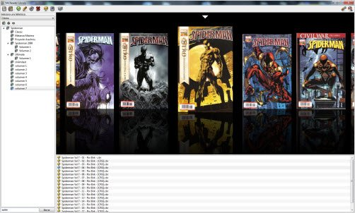 YACReader is a Comic Reader that supports Multiple Comic File and Image Formats