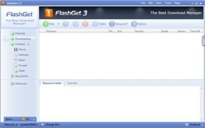 Flash Get 400x250 Best Free Download Managers for Windows 7 | 8