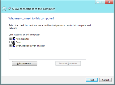 Configure VPN connection in Windows