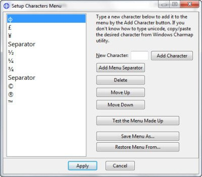 Insert Unicode and Special Characters in documents quickly with CatchCar