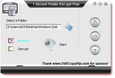 1 Second Folder Enccrypt Free 400x272 5 Free File Encryption Software for Windows
