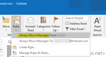 How to Auto Delete email in Outlook selectively