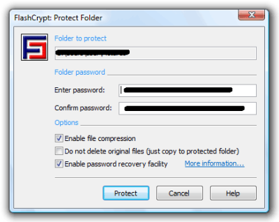 FlashCrypt Encryption software 400x318 5 Free File Encryption Software for Windows
