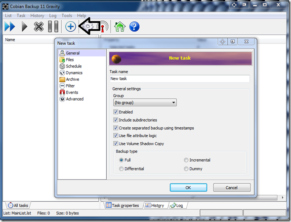 Cobian Backup is a free backup software for Windows PC