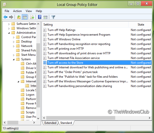 52058 5 Remove Look For An App In The Store option, from Choose Default Program menu in Windows 8