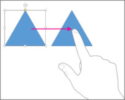 slide Touch gestures for using Office 2013 on Tablets and Touch Screen devices