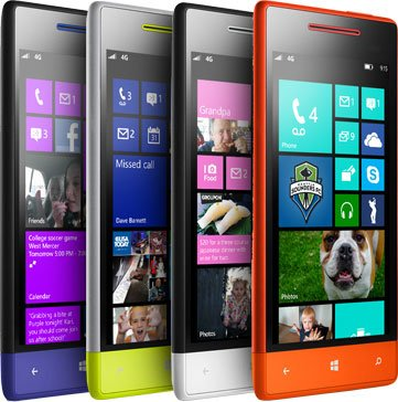 HTC Windows Phone 4S-4X