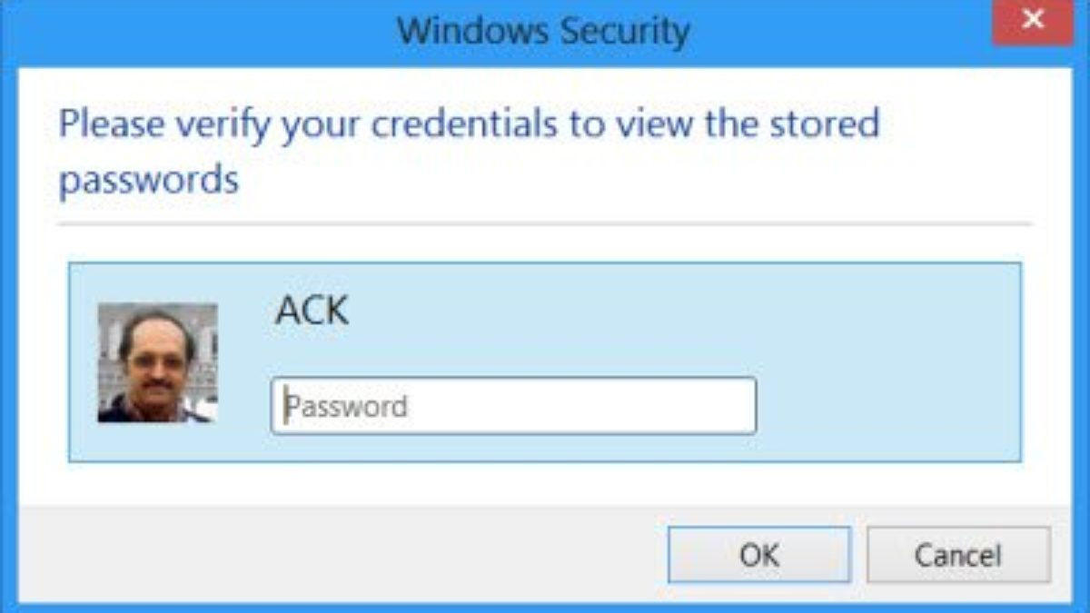 Manage Passwords In Internet Explorer Using Credential Manager