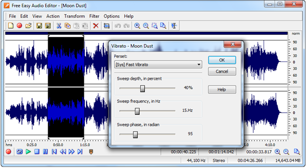 Free Easy Audio Editor