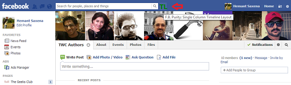 FB extension added