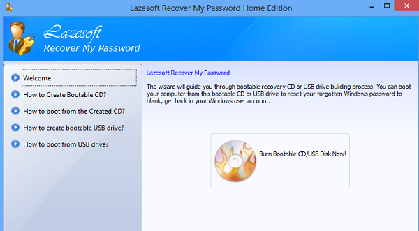 Lazesoft Recover my Password 1