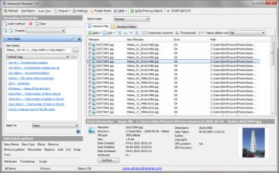 Batch rename files in Windows 10
