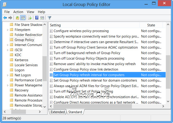 group-policy-refresh-interval
