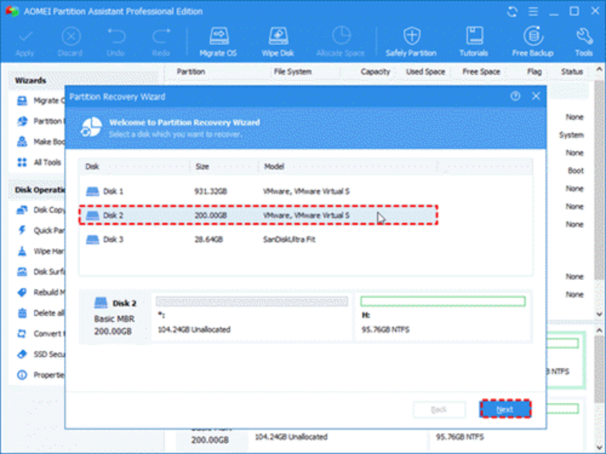 aomei partition assistant standard edition review  free download