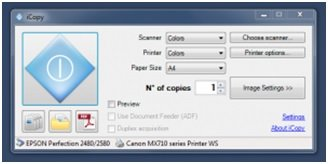 use printer and scanner as photocopier