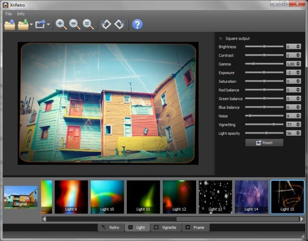 XnRetro lets you add Retro and Vintage effects to photos on your PC