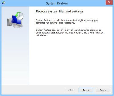1 System Restore Point