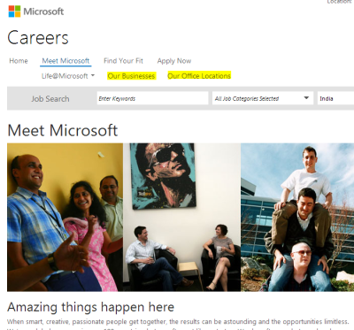 How To Get Job In Microsoft