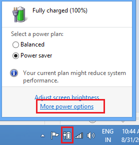 More-Power-options