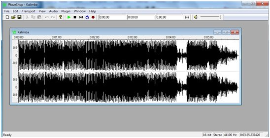 easy and portable audio editor