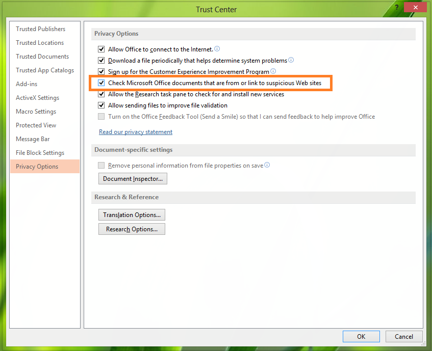 Enable-Or-Disable-Suspicious-Hyperlink-Warnings-In-Office-2013-3
