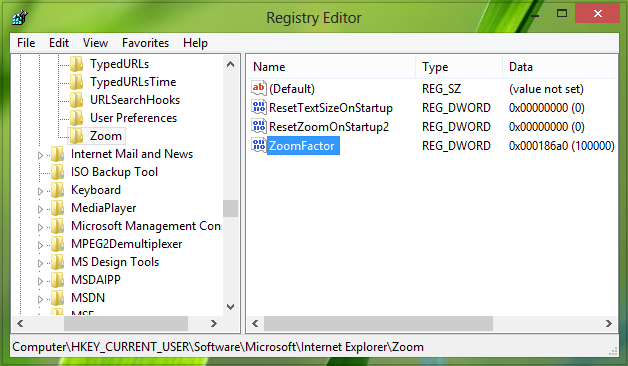 How-To-Configure-Zooming-Level-Using-Registry-In-Internet-Explorer