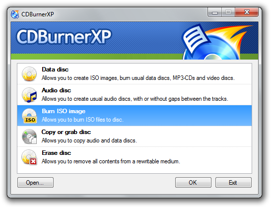 free double layer dvd burning software