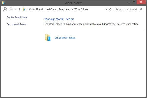 How to set up Work Folders in Windows 10